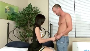Pretty stud is stuffing sweet loving holes of naff hottie