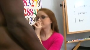 Kinky tutor examines girl???s fuckholes instead be incumbent on her tests